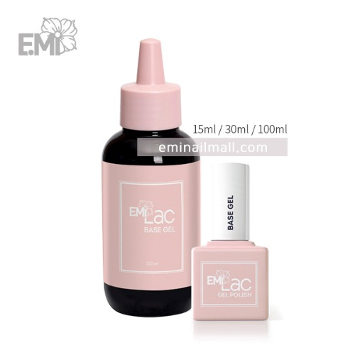 [E.MiLac] Base gel 베이스젤 15/30/100ml